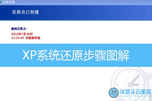 XP系统还原步骤图解