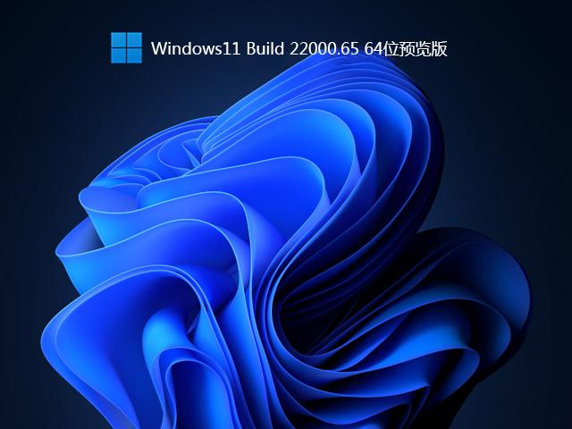 Win11 Build 22000.65 预览版 V2021