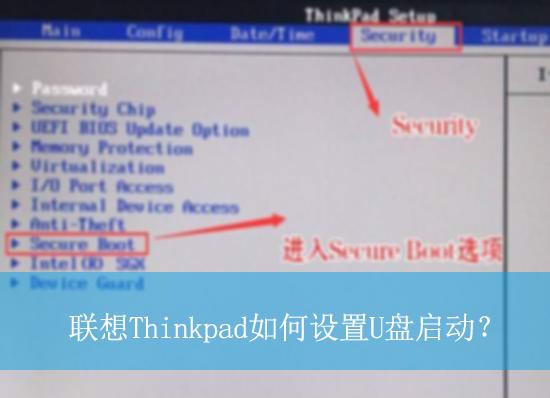 联想Thinkpad如何设置U盘启动?|thinkpad笔记本设置u盘启动的方法