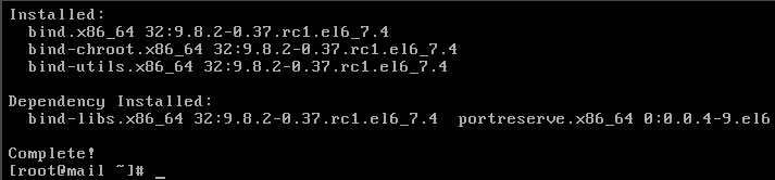 Linux(CentOS)如何安装DNS服务器?
